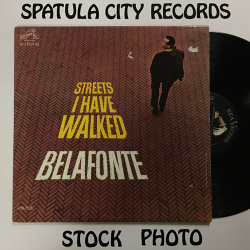 Harry Belafonte - Streets I Have Walked - MONO - vinyl record LP