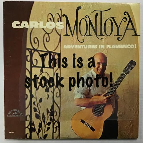 Carlos Montoya - Adventures in Flamenco - vinyl record LP