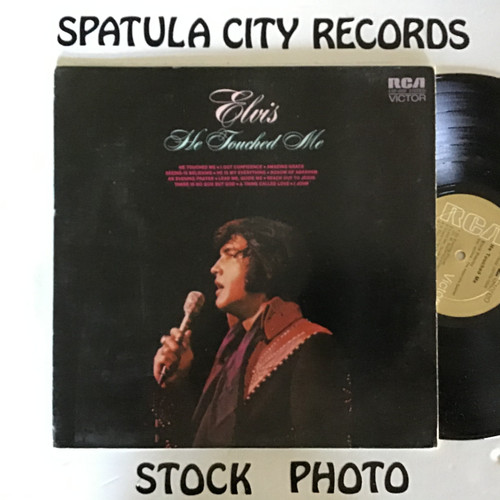 Elvis Presley - He Touched Me - SEALED - vinyl record LP