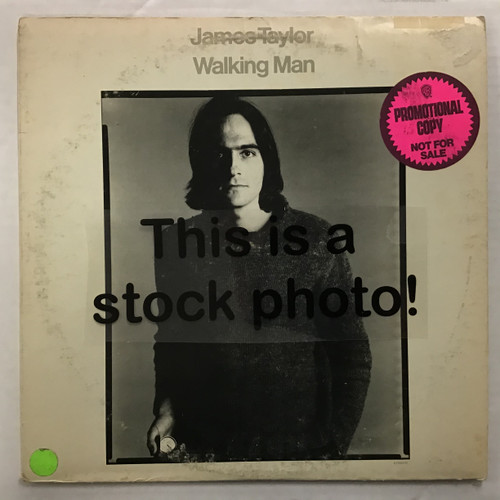 James Taylor - Walking Man - Promo - vinyl record LP