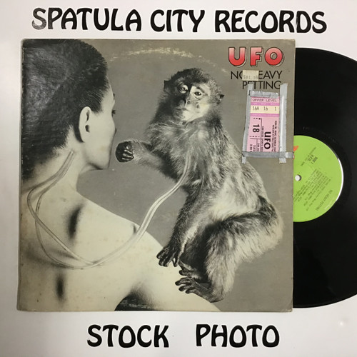 UFO - No Heavy Petting - vinyl record LP