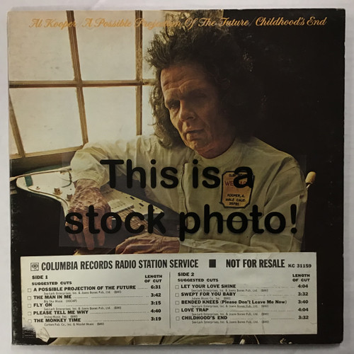 Al Kooper - A Possible Projection of the Future/Childhood's End - vinyl record LP