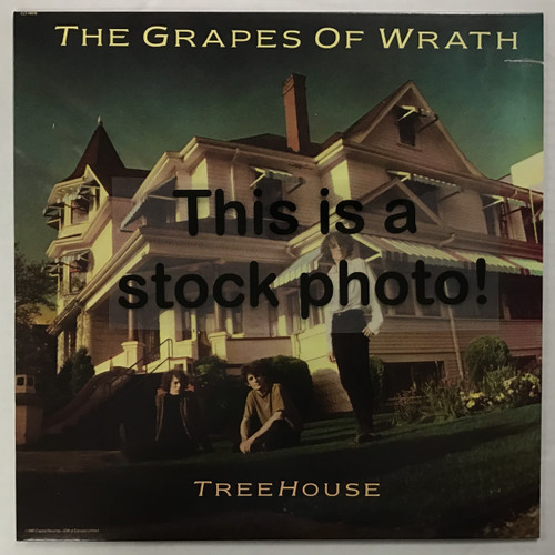 Grapes of Wrath, The - Treehouse - IMPORT - vinyl record LP