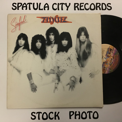 Angel - Sinful - vinyl record LP