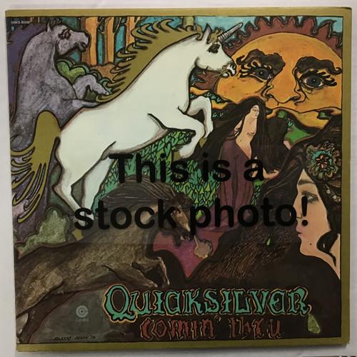 Quicksilver Messenger Service - Comin' Thru - vinyl record LP