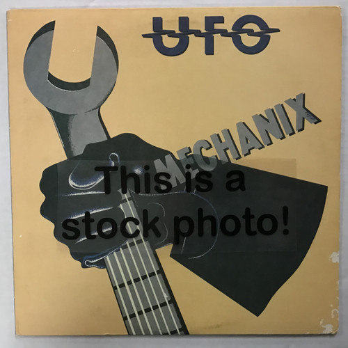 UFO - Mechanix - vinyl record LP