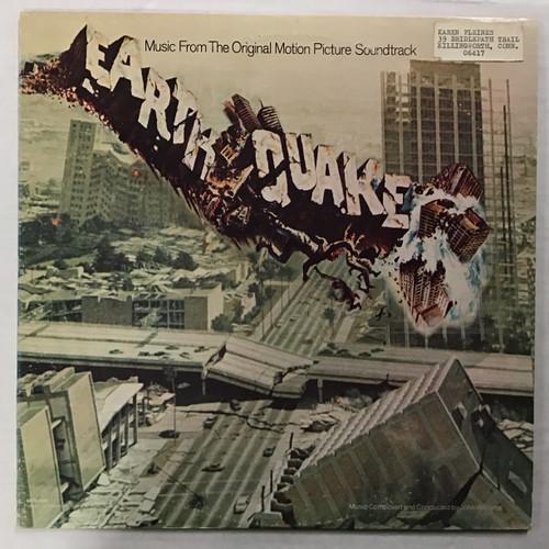 Earthquake - Soundtrack - vinyl record LP