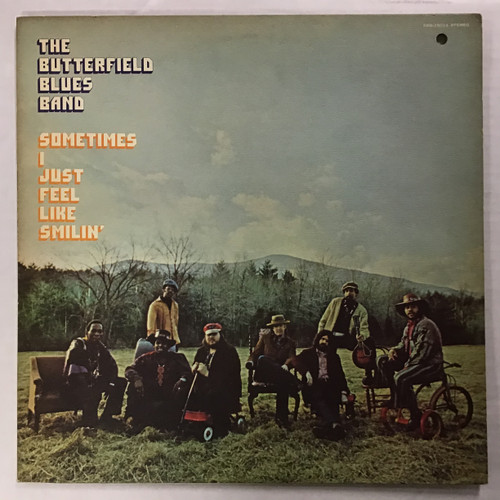 Butterfield Blues Band, The - Sometimes I Just Feel Like Smilin - vinyl record LP