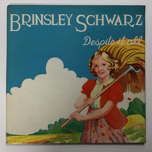 Brinsley Schwarz - Despite It All - IMPORT - vinyl record LP