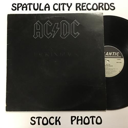 AC/DC - Back in Black - vinyl record LP