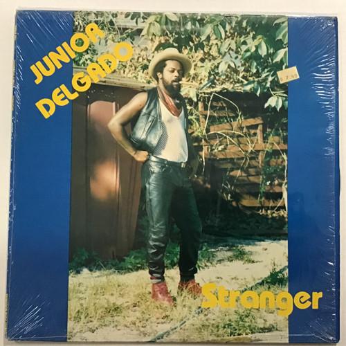 Junior Delgado - Stranger SKD records Reggae Vinyl record
