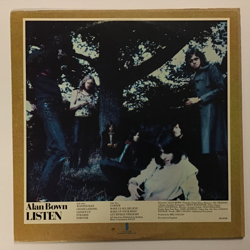 Alan Bown - Listen - vinyl record LP