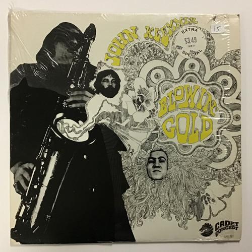 John Klemmer - Blowin' Gold - vinyl record LP