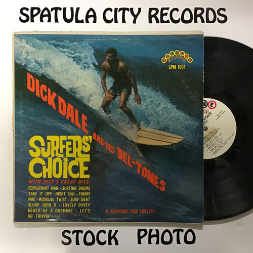 Dick Dale and his Del-Tones - Surfers Choice -- vinyl record LP