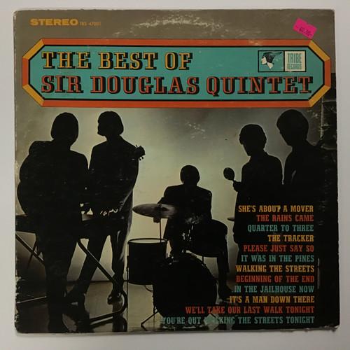 Sir Douglas Quintet - The Best of Sir Douglas Quintet - vinyl record LP
