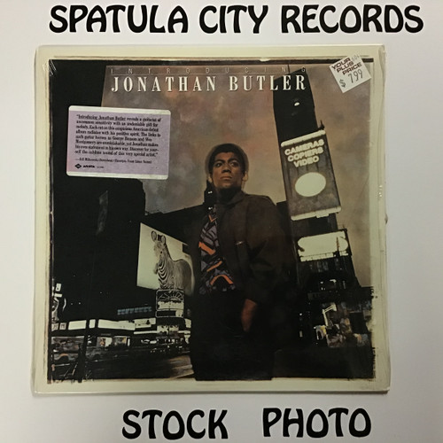 Jonathan Butler - Introducing Jonathan Butler - vinyl record LP