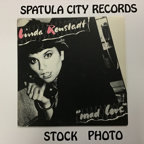 Linda Ronstadt - Mad Love - vinyl record LP
