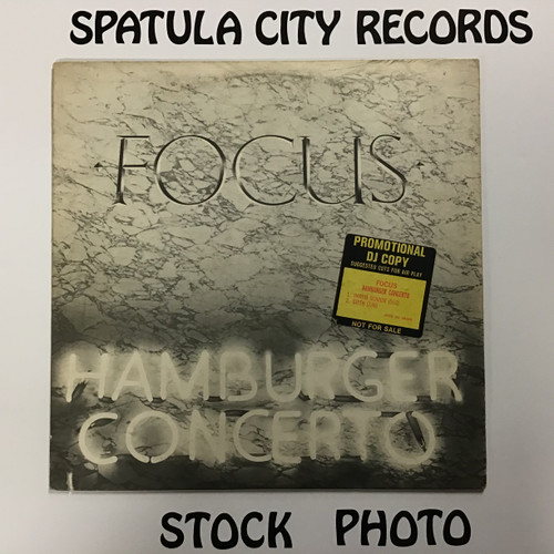 Focus - Hamburger Concerto - vinyl record LP