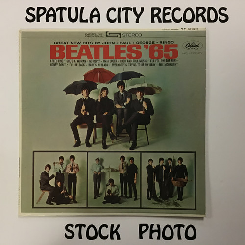 Beatles, The - Beatles '65 - vinyl record LP