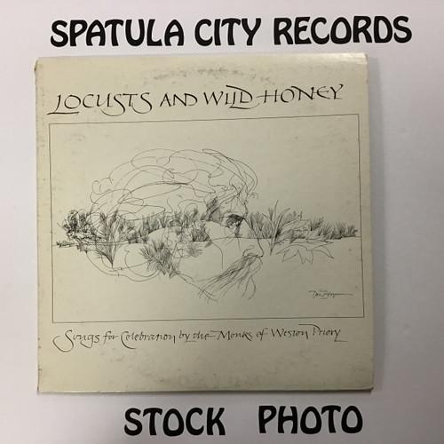 The Monks of Weston Priory - Locusts and Wild Honey - vinyl record LP