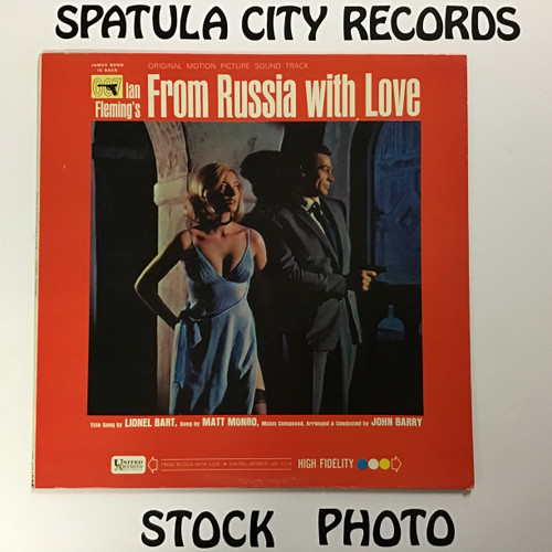 From Russia With Love - Soundtrack - MONO - vinyl record LP