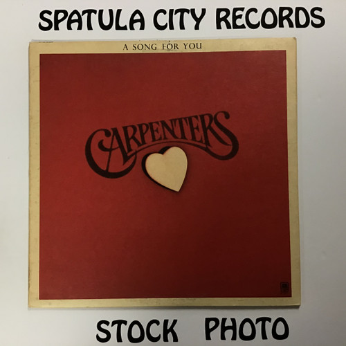 Carpenters - A Song For You - vinyl record LP Carpenters - A Song For You - vinyl record LP