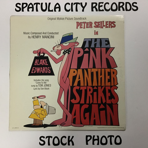 Pink Panther Strikes Again, The - Soundtrack - vinyl record LP
