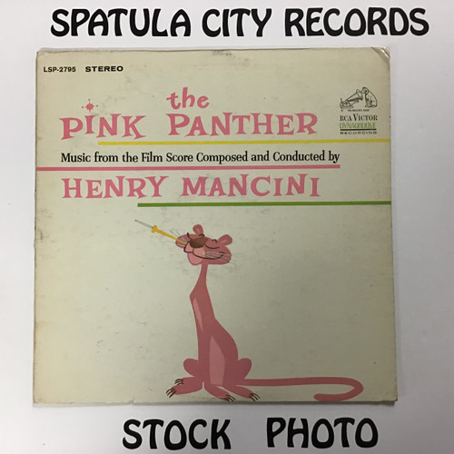 Pink Panther, The - Soundtrack - vinyl record LP