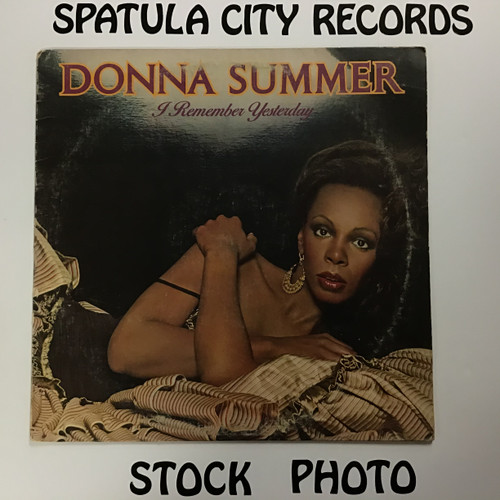 Donna Summer - I Remember Yesterday - vinyl record LP