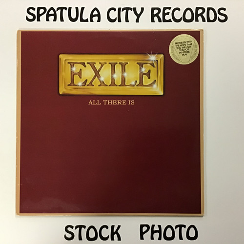 Exile - All There Is - vinyl record LP