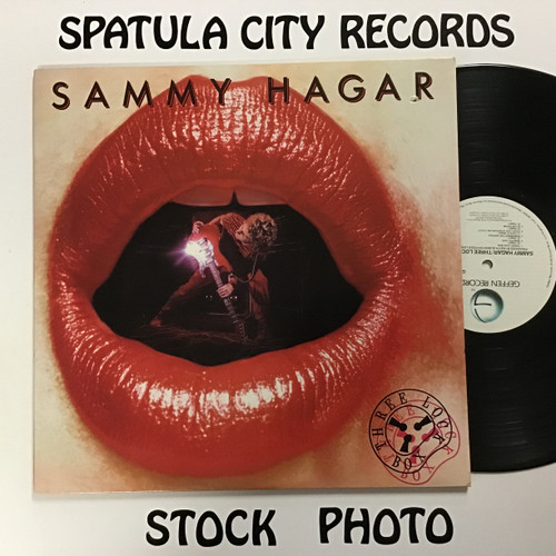 Sammy Hagar - Three Lock Box - vinyl record LP