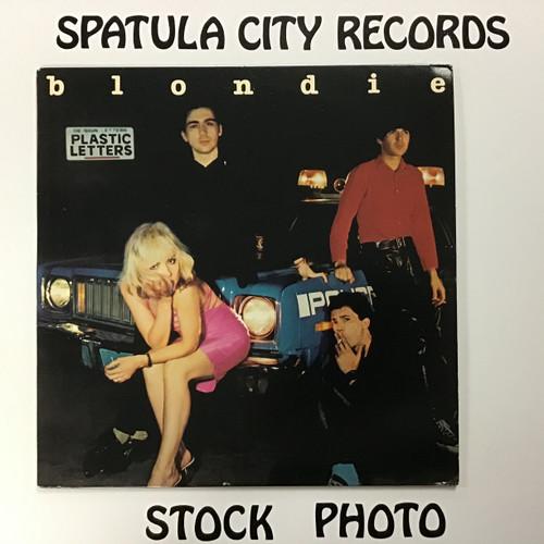 Blondie - Plastic Letters - vinyl record LP