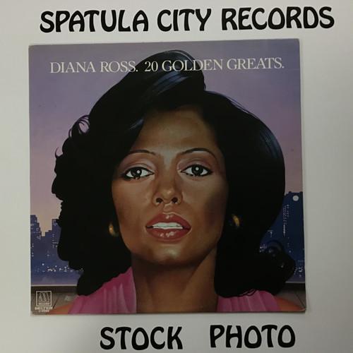 Diana Ross - 20 Golden Greats - IMPORT - MONO - vinyl record LP