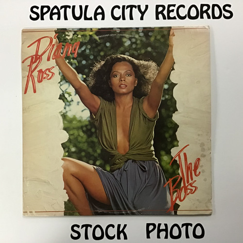 Diana Ross - The Boss - vinyl record LP
