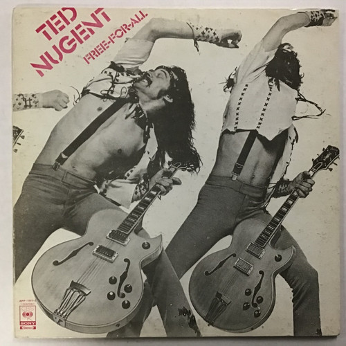 Ted Nugent - Free-for-all - IMPORT - vinyl record LP