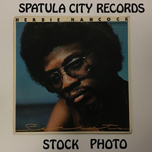 Herbie Hancock - Secrets - Quadraphonic - PROMO GOVERNMENT-  vinyl record LP