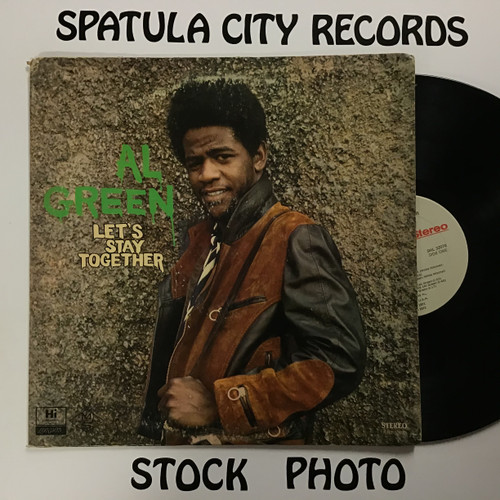 Al Green - Let's Stay Together - vinyl record LP