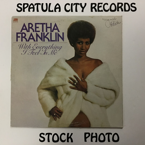 Aretha Franklin - With Everything I Feel In Me - vinyl record LP