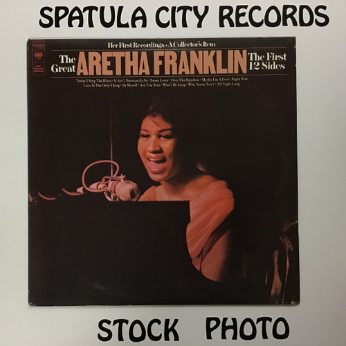 Aretha Franklin - The First 12 Sides - vinyl record LP