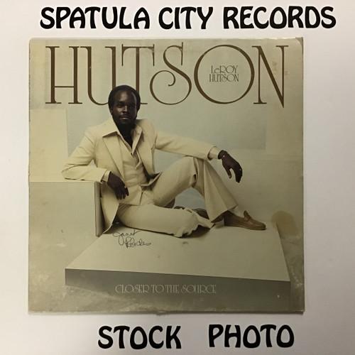 LeRoy Hutson - Closer to the Source - vinyl record LP