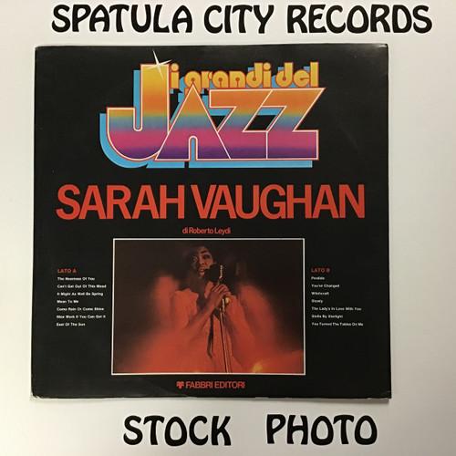 Sarah Vaughan - Sarah Vaughan I Grande Del Jazz Series - IMPORT - vinyl record LP