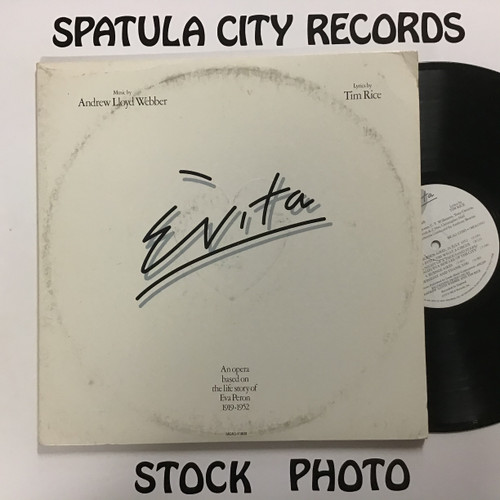 Andrew Lloyd Webber and Tim Rice - Evita - double vinyl record LP