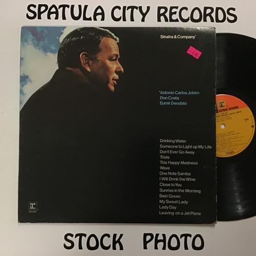 Frank Sinatra - Sinatra and Company - vinyl record LP