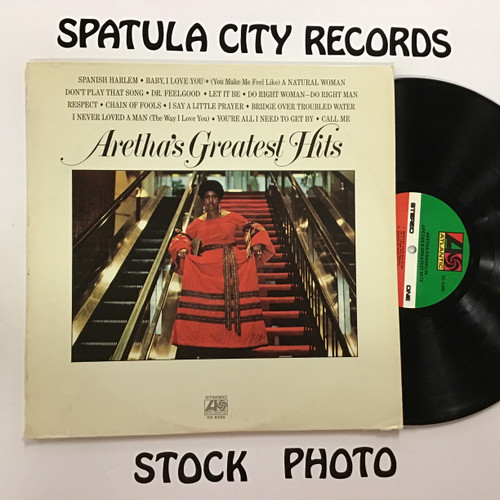 Aretha Franklin - Greatest Hits - vinyl record LP