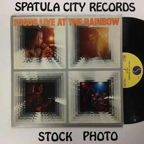 Focus - Live at the Rainbow - vinyl record LP