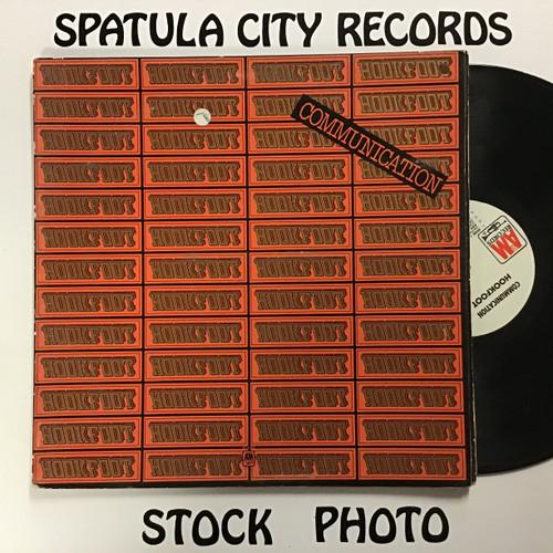 Hookfoot - Communication- WLP PROMO - vinyl record LP