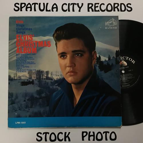 Elvis Presley - Elvis Sings Christmas Songs Elvis' Christmas Album - MONO - vinyl record LP