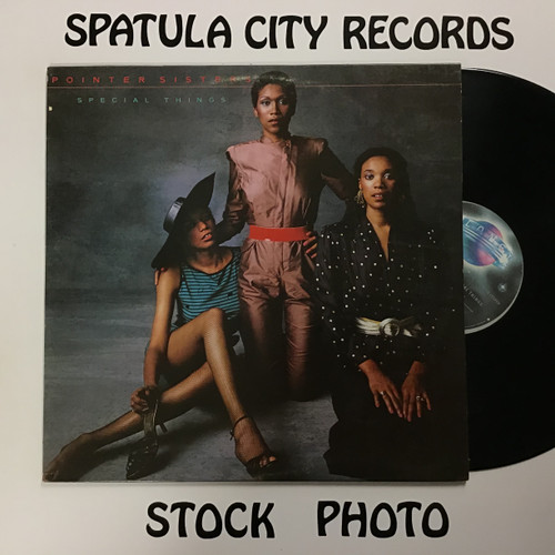 Pointer Sisters - Special Things - vinyl record LP