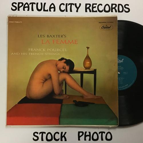 Les Baxter - Les Baxter's La Femme - MONO - vinyl record LP