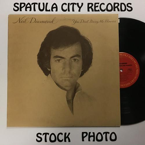Neil Diamond - You Don't Bring Me Flowers - vinyl record LP